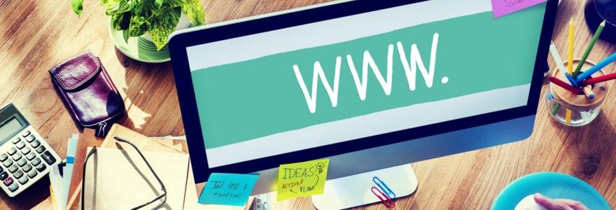 Créer site internet en ligne